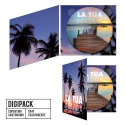 CD Digipack 2 ante - Stampa Digitale + Duplicazione standard