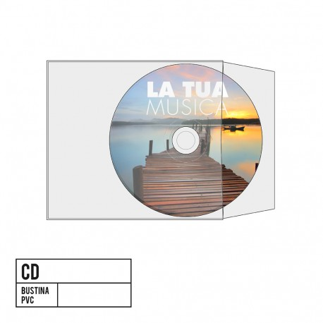 CD Bustina PVC