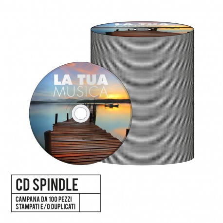 CD On Spindle