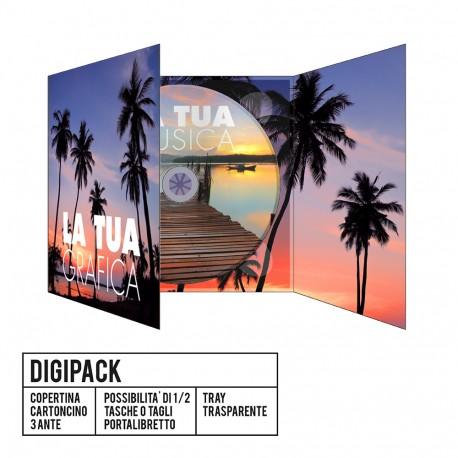 CD Digipack 3 Ante, Idrolack