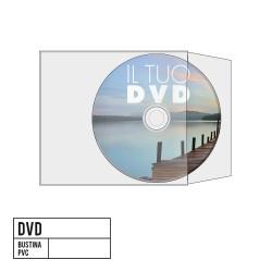 DVD con Bustina in PVC